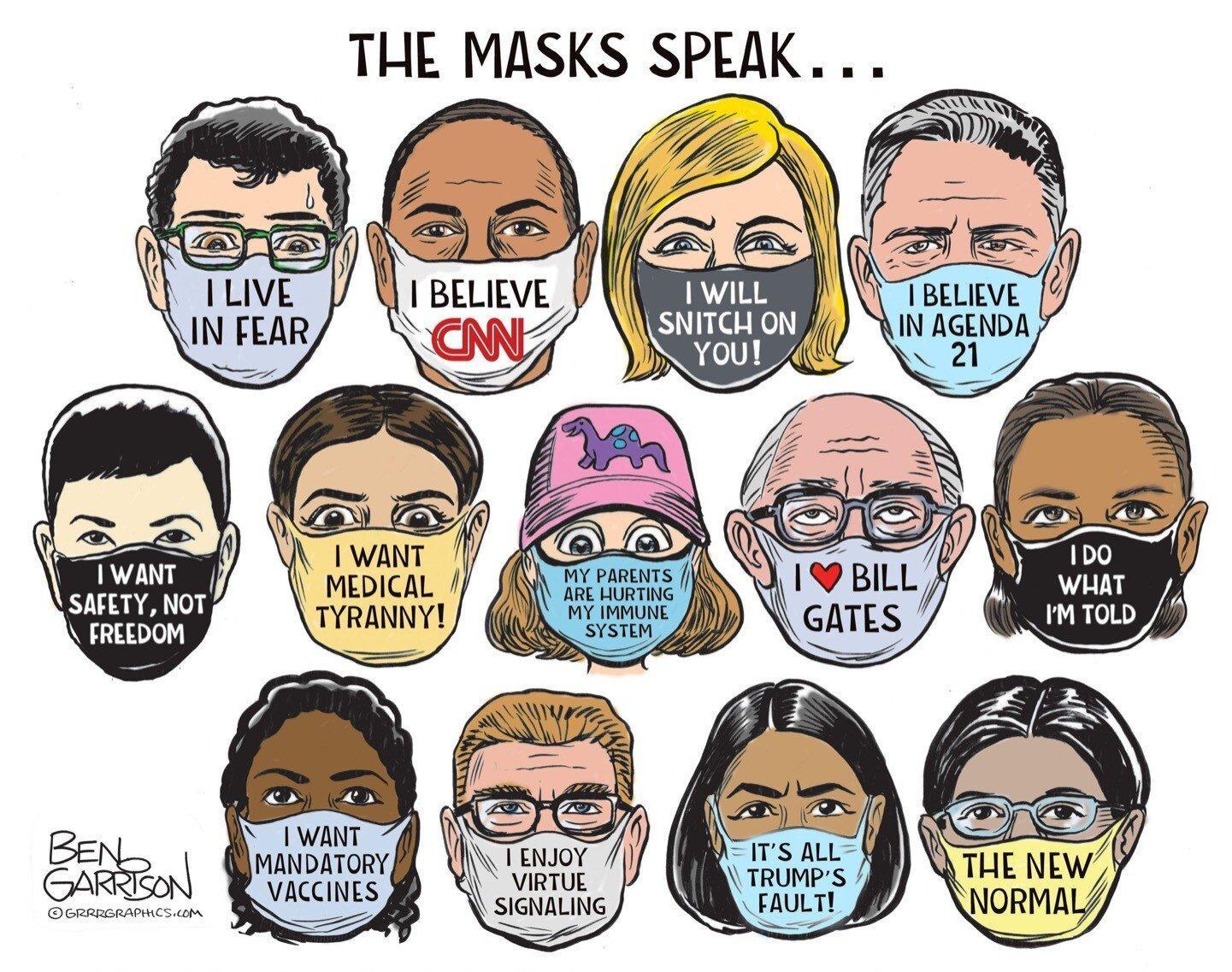Meat Puppet Biden's '100 Days' Of Masks Transforms Into Masks 'Through The Next Year' (summit.news)